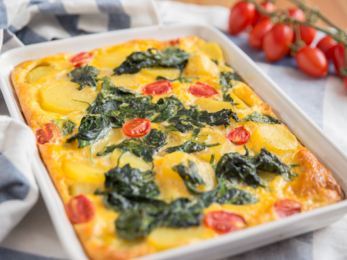 spinach frittata recipe